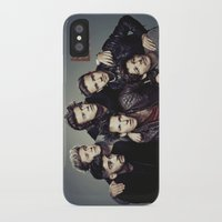 snl iPhone & iPod Cases featuring One Direction - SNL w/ Paul Rudd by Amara V