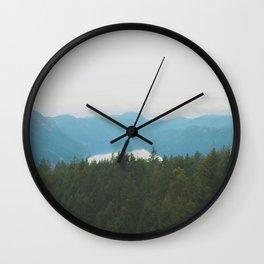 Malahat | Vancouver Island Wall Clock