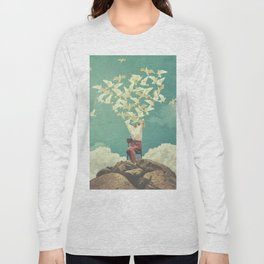 Pigeon Composer Long Sleeve T-shirt