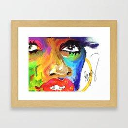 Missy Elliott Framed Art Print