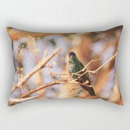 Bird - Photography Paper Effect 003 Rectangular Pillow