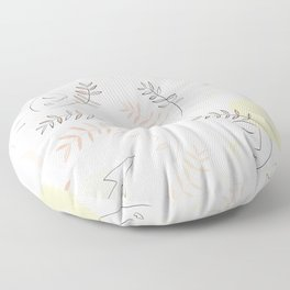 Forever together - Matisse inspired pattern Floor Pillow