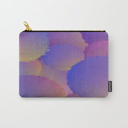 Purple Nuclear Fusion Carry-All Pouch