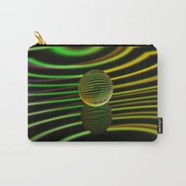 Floating glass ball abstract. Carry-All Pouch