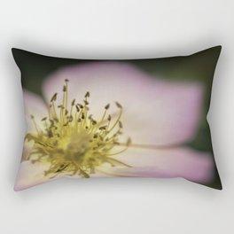 Pink Wild Rose Rectangular Pillow