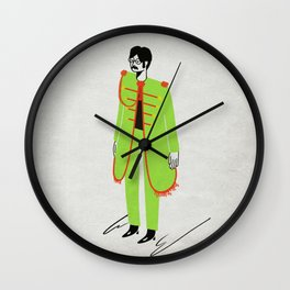 Nowhere Man - Mid Years Wall Clock