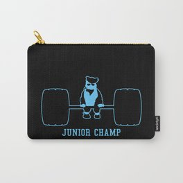 Junior Champ Weight Lifter V6S2 Carry-All Pouch