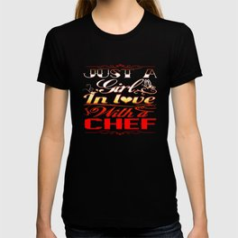 In love with a Chef T-shirt