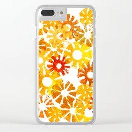 Autumn Sun Clear iPhone Case