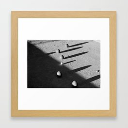 Bocce Ball Framed Art Print