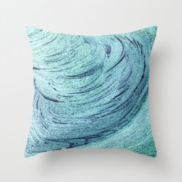 An insignificant maelstrom Throw Pillow