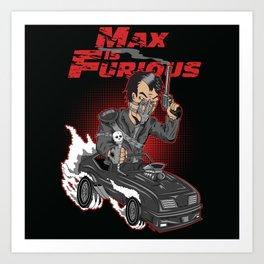 Max is Furious Art Print