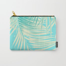 Palm Leaves Summer Vibes #4 #tropical #decor #art #society6 Carry-All Pouch