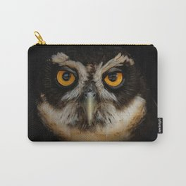 Trading Glances with a Spectacled Owl Carry-All Pouch