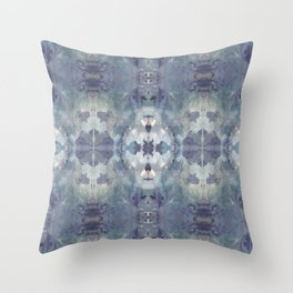 Large Lilac Chill Throw Pillow