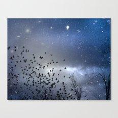 As Stars Collide Canvas Print