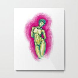 La Femme Waikiki Metal Print