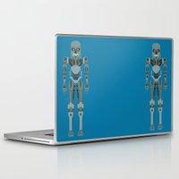 terminator Laptop & iPad Skins featuring Terminator Vector by TIERRAdesigner