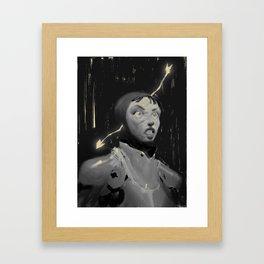 Joan of arrows Framed Art Print