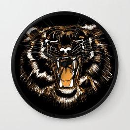 Roar Tiger Wall Clock
