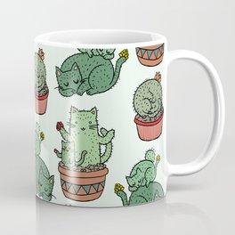 Cacti Cat pattern Coffee Mug