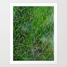 Siesta in the River Art Print