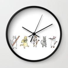 Meowtet Wall Clock