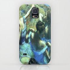 Blue Dancers Slim Case Galaxy S5