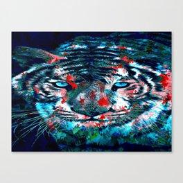 Artistic Tiger Canvas Print