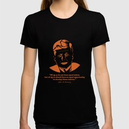 Qoute JF Kennedy T-shirt