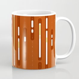Abstract Sunset Dream – Orange / Yellow / Red Abstract Print Coffee Mug