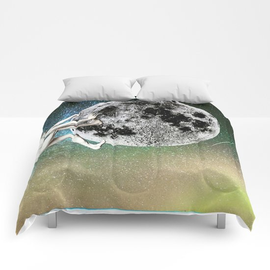 The Man On The Moon Comforters