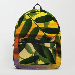 Acacia by the lake Backpack