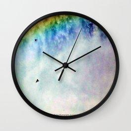 Shoshone Falls Idaho - Flying through Rainbow Falls - Jeronimo Rubio Photography Wall Clock