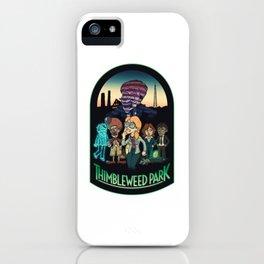 Thimbleweed Park iPhone Case