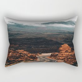 Road to Valley of Fire Rectangular Pillow
