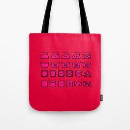 Pink Wash & Care Tote Bag