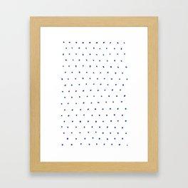 Dots 02 Framed Art Print