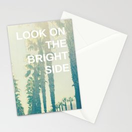 Look on the Bright Side Stationery Cards