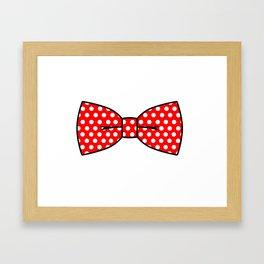 Bow-Tie Framed Art Print