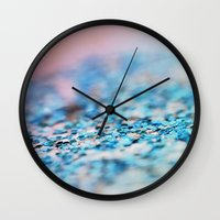 supreme Wall Clocks featuring Slushie Supreme by Beth - Paper Angels Photography