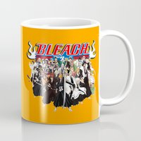bleach Mugs featuring TOGETHER BLEACH by feimyconcepts05