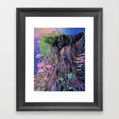 Clinging Framed Art Print