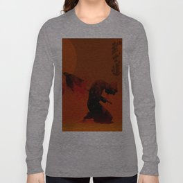 Seppuku ( Hara Kiri) The liberation of the spirit of the samurai Long Sleeve T-shirt