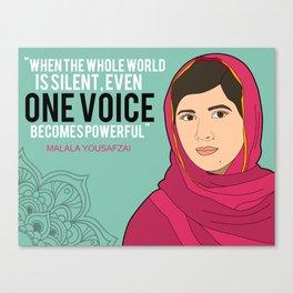 One Voice Canvas Print