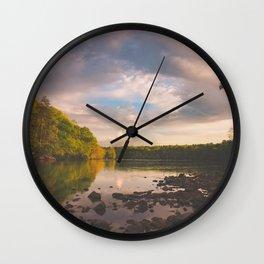 Sope Creek, Georgia Wall Clock