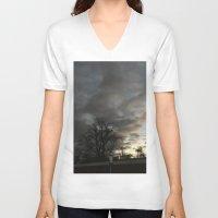 twilight V-neck T-shirts featuring Twilight. by Mikhail Zhirnov