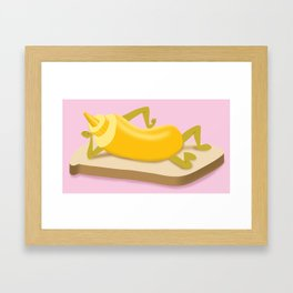 Sexy Mustard Framed Art Print