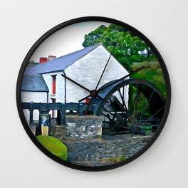The Auld Mill House Wall Clock