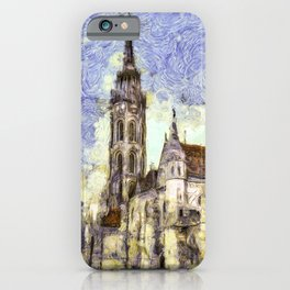 The Church Vincent Van Gogh iPhone Case